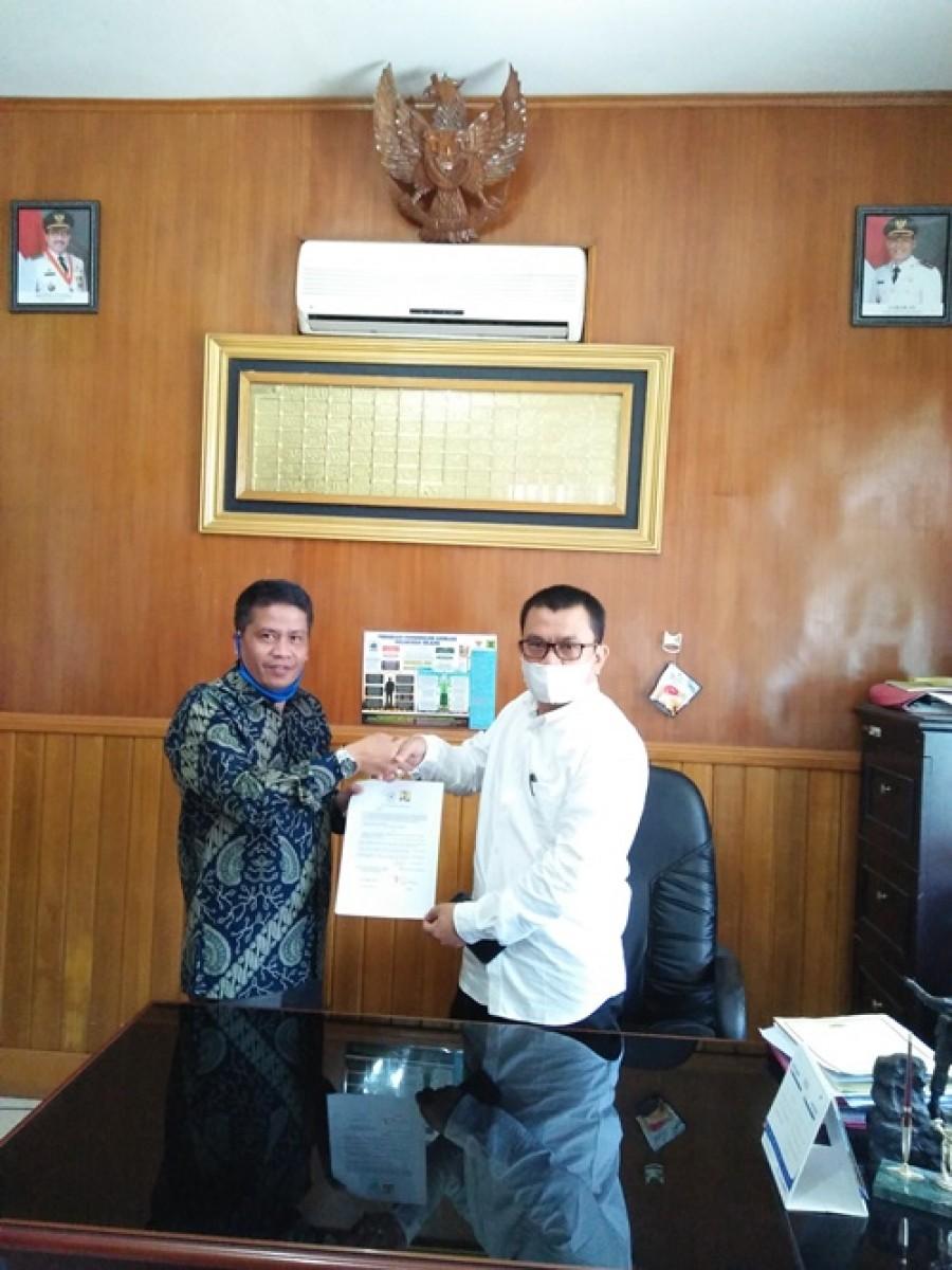 Kepala Dinas PUTR Kabupaten Pasaman Agusti Awizar, S.T